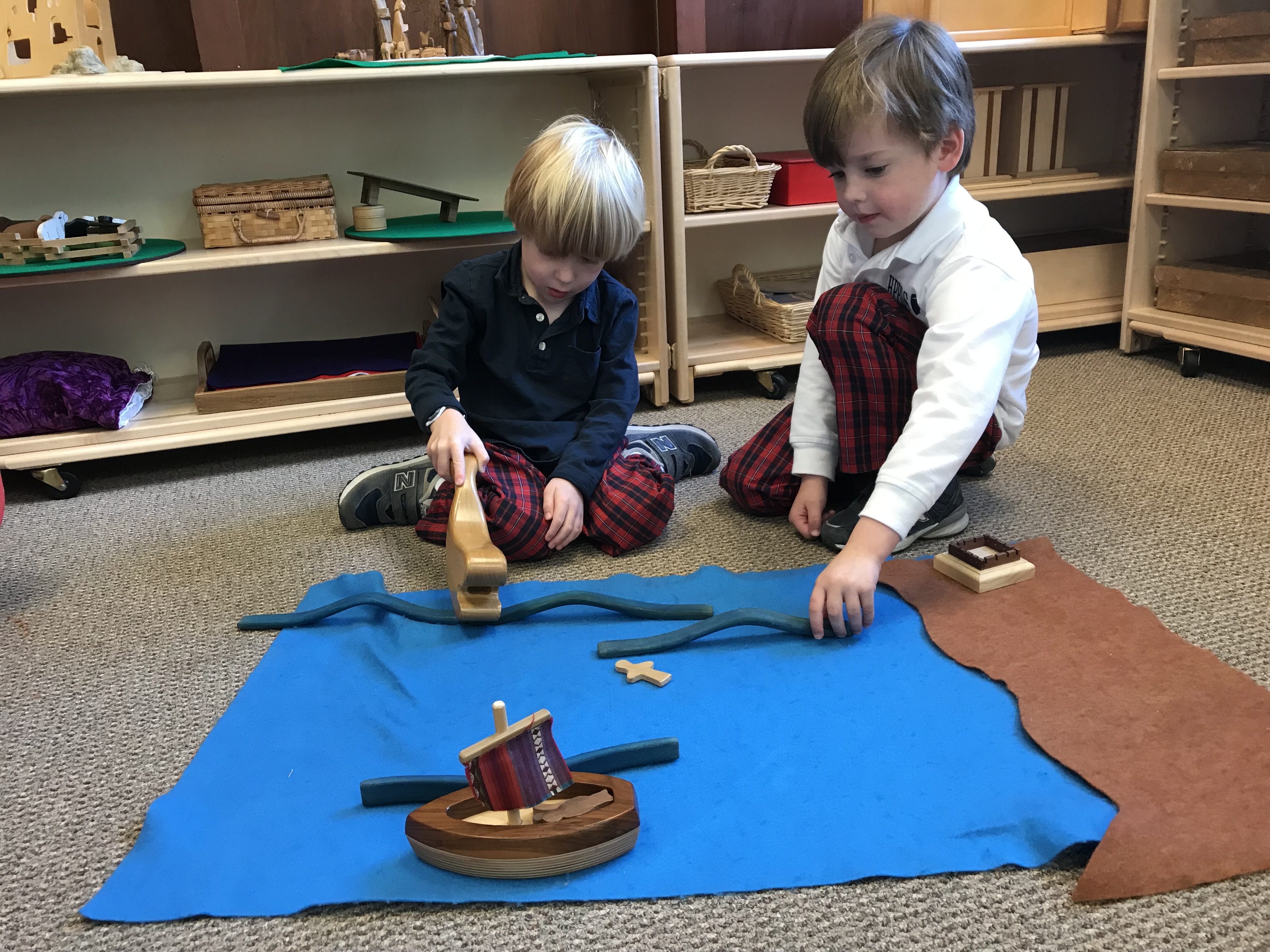"Godly Play and ""Wynne Chapel"" at The Day School"